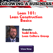 GROWING A BUSINESS LEAN CONSTRUCTION