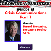 GROWING A BUSINESS May 2016