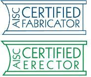 AISC Certified Fabricator & Erector